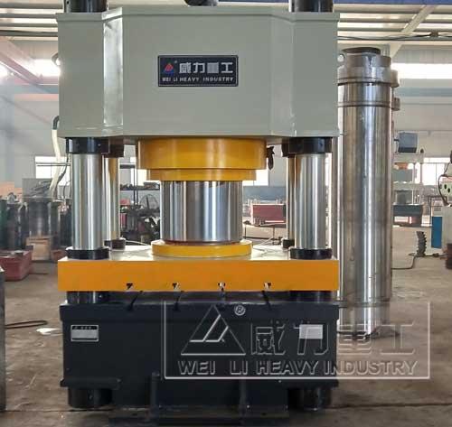800吨可降解餐具热压成型液压机