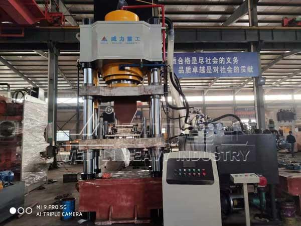 800吨快速粉末成型液压机
